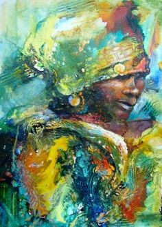 sooo beautiful, and just love the colours! Contemporary Australian Artists, Xhosa, Romantic Period, Interactive Media, Natural World, African Art, Art Techniques, Cool Artwork, Watercolor