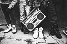 I identify with this picture because I love music. Not only do I think that music is one way in which cultures unite, but I also think that music is a language. Especially hip hop