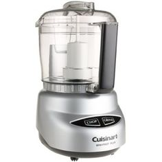 Cuisinart DLC-2ABC Mini Prep Plus 3 Cup Food Processor, Brushed Chrome