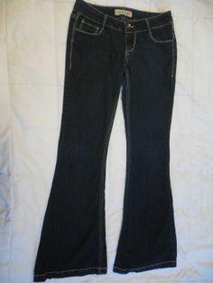Paris Blues Girls Blue Jeans Size 3 #ParisBlues #Flare #Everyday