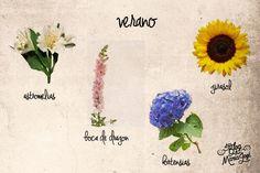 Las flores de boda florecen en ciertas temporadas. Estas son las que se dan en la estación del verano #bodas #elblogdemaríajosé #floresboda #verano #weddings