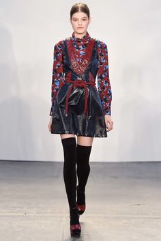 Tanya Taylor Fall 2015 Ready-to-Wear Fashion Show - Look 19,Kia Low