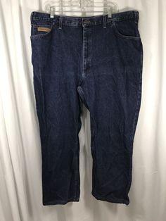 Texas Jeans Made in the USA Blue Cotton TXJ-55 Mens Original Fit sz 44R x 27.5 #TexasJeans #ClassicStraightLeg