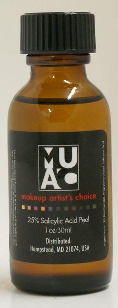 25% Salicylic Acid At Home Chemical Peel Acne Oily Skin
