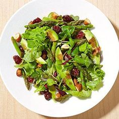 Boost your lunch! Try this recipe for a heart-healthy salad w/ asparagus