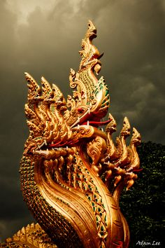 NAGA  - the mystic serpent in Thai culture   -   [ Nāga ]
