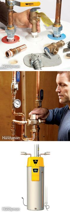 Water Heater: Solve your hot water problems with these water heater repair and installation articles. http://www.familyhandyman.com/plumbing/water-heater