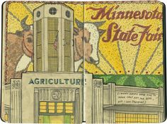 I never got around to doing any actual crop art for the Minnesota State Fair...but I've had plenty of ideas.