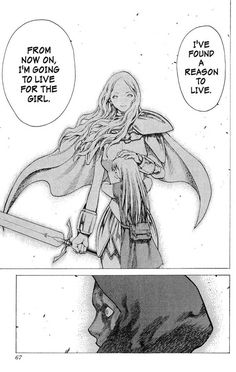Claymore 17 Page 25. And then, for a fleeting moment, there was real life.
