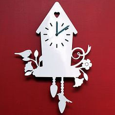 Coo Clock Land Of Nod Has Some The Most Darling Clocks I Ve Seen In Retail Awhile This Is A Modern Take On Trad