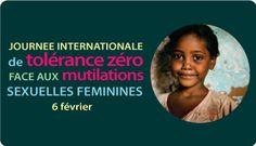6 février #femmes : Journée internationale de tolérance zéro face aux mutilations sexuelles féminines - Les mutilations sexuelles féminines sont internationalement considérées comme une violation des droits des jeunes filles et des femmes. Elles sont le reflet d'une inégalité profondément enracinée entre les sexes et constituent une forme extrême de discrimination à l'égard des femmes.