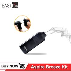 Find More Electronic Cigarette Kits Information about Electronic Cigarette Aspire Breeze Kit 2ml Tank 0.6ohm Replacement Coil 650mAh Battery Mod All in One Vape Kits Vaporizer,High Quality vape kit,China vaporizer replacement Suppliers, Cheap cigarette aspire from EASTfun Store on Aliexpress.com
