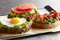 California Avocado Toast Three Ways Recipe | California Avocado Commission - Phase 3 breakfasts