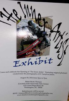 photo art exhibit August 20, 2016, Washington, DC