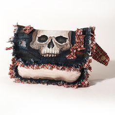 Lovely Bones Hip Bag by Modesty by StudioModesty on Etsy