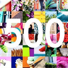 Thanks for helping us capture #beautiful color in the #wild! Keep submitting your photos using #foundpalettes! Xo ❤️#500followers #cheers #happy #followus