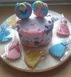 Tarta de princesas.