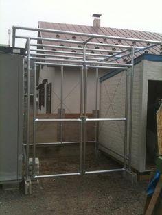 Base Image, Scaffolding, Bar Stools, Shelter, Diy And Crafts, Shed, House Design, Interior, Furniture