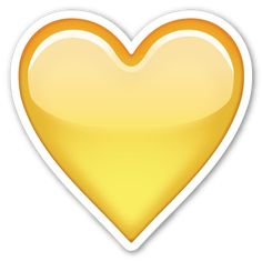 1000+ images about EMOJI'S on Pinterest | Smileys ... Yellow Heart Emoji