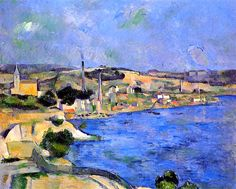 Saint Henri and the Bay of  Estaque - Paul Cezanne