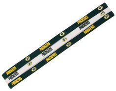 Green Bay Packers Elastic Headbands