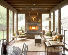 Screened In Porch Ideas Design Ideas, Pictures, Remodel, and Decor