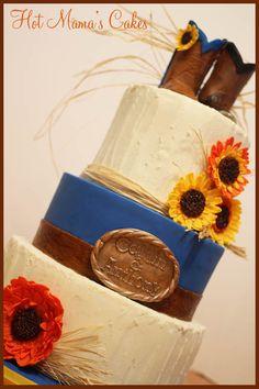 Country Wedding! — Round Wedding Cakes