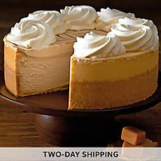 The Cheesecake Factory® Dulce de Leche Caramel Cheesecake - 40007