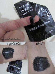 Máscara removedora de cravos, resenha em http://www.somandoconhecimento.com/2015/12/aliexpress-mascara-removedora-de-cravos-black-head.html