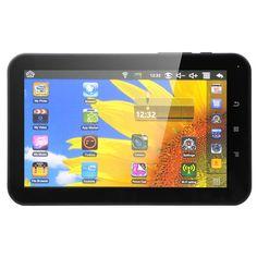 "Tableta MYRIA DC0236-4GB, Wi-Fi, 7"", 4GB, Allwinner A10 1.0GHz, Android 4.0 Wi Fi, Android 4, My Music, Marketing, Tablet Computer"