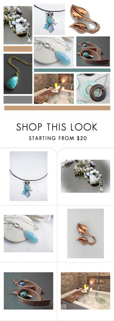 """""""Blues to Live By"""" by inspiredbyten ❤ liked on Polyvore featuring MCM and vintage"""