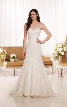 D1768 Lace Wedding Dresses by Essense of Australia