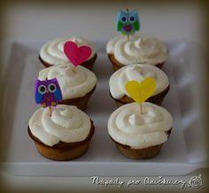 Banánový cupcake Kefir, Cupcakes, Cookies, Desserts, Food, Lemon, Crack Crackers, Tailgate Desserts, Cupcake Cakes