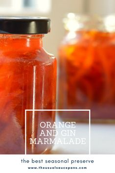 Looking to make something interesting this winter? Try my homemade orange marmalade recipe - it's full of beautiful seville orange and a healthy little slosh of gin to make a Seville orange and gin marmalade that will make you want breakfast multiple times a day!