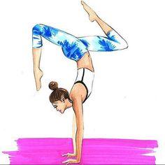 Super tolle Illustration von @rongrong_devoe_illustration #yoga…