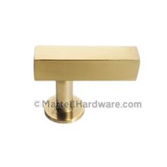 Ordinaire Lewu0027s Hardware [41 101] Solid Brass Cabinet T Knob   Square Bar Series