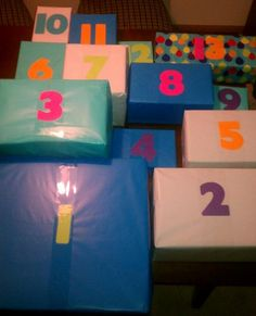 13 gifts, each with 13 things inside for a 13th birthday. First 12 boxes include Gatorade, Dr. Pepper, Jones Soda, Candy, Toothbrush, Tooth Paste, Floss & School Supplies. Box number 13 is cash, could also be gift cards.