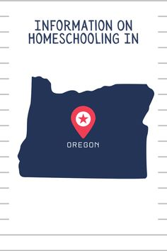 Get started homeschooling in #Oregon with this information. #homeschool #homeschoolinoregon