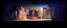 cinderella set design ideas | Set designer Christine Peters shown Thursday, June 23, 2011inside the ...