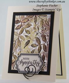 Lovely Leaves #stampinup