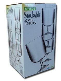 Stackable 12 Oz. Clear Acrylic Tumblers - 8 Piece Set Costco http://www.amazon.com/dp/B00DP5EGZC/ref=cm_sw_r_pi_dp_dnw6ub1ZZSM8T