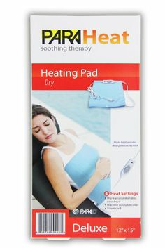 """Amazon.com: ParaHeat Electric Heating Pad 12"""" x 15"""" Blanket Arthritis Muscle Therapy NEW!: Health & Personal Care"""