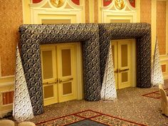 Venetian themed entrance ways.  Perfect for your Venetian themed event.  www.TheIG.com