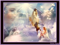 Heaven God Jesus, Jesus Christ, A Place Called Heaven, Wonder Art, My Father's House, Bride Of Christ, Jesus Pictures, God Prayer, Stairway To Heaven