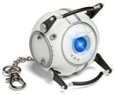 Portal Wheatley LED Flashlight Keychain by Think Geek Portal 2 Wheatley, Geek Toys, Tk Maxx, Led Flashlight, T Rex, Geek Stuff, Cool Stuff, Interesting Stuff, Ebay