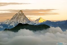 Sunrise over the alpine peaks of Matterhorn, Zinalrothorn and Weisshorn  by francesco vaninetti