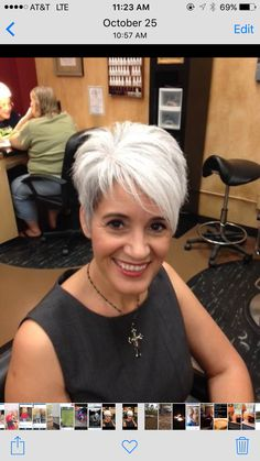 best short haircuts for women 2019 page 19 - kurzhaarfrisuren Short Hair Cuts For Women, Short Hairstyles For Women, Diy Hairstyles, Short Hair Styles, Short White Hair, Short Sassy Haircuts, Haircut Short, Haircut Styles, Choppy Hair