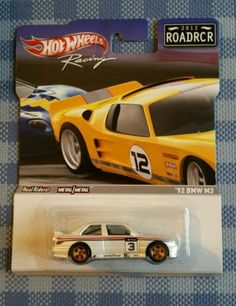 Hot-Wheels-039-92-Bmw-M3-E30-ROADRCR-Real-Riders-Ultra-selten