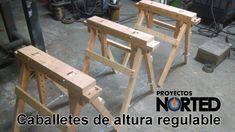 Fabricación de caballete regulable en altura | Building Sawhorses
