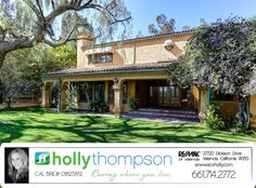 Homes for Sale in Granada Hills, CA Brought to you by Holly Thompson of REMAX of Santa Clarita: 17263 Signature Dr – Exquisite Granada Hills Estate! For more information on this listing or to view all of my listings, go to www.SVCHolly.com or contact me today at 661-714-2772 with any questions or to see this home!